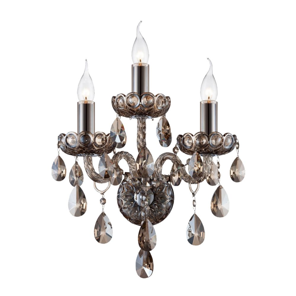 Providence Collection, 3-Light Cognac Brandy Wall Sconce