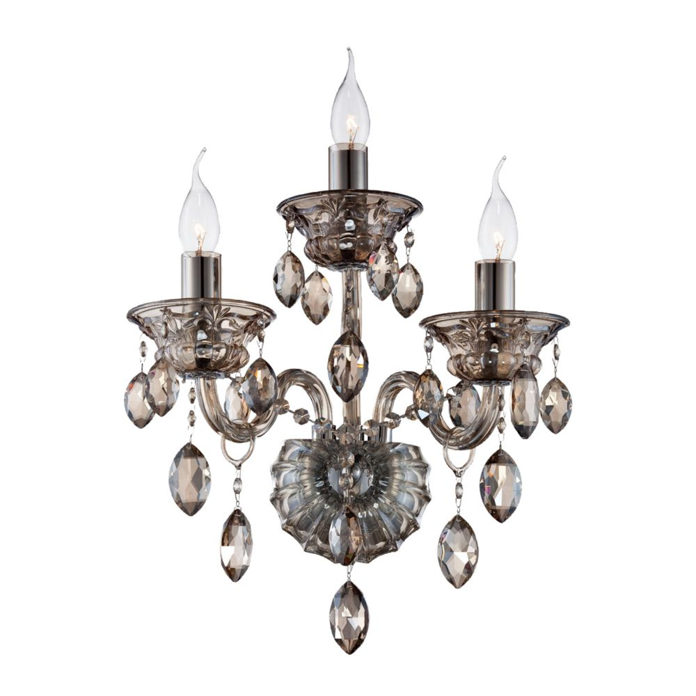 Venetian Collection, 3-Light Cognac Brandy Wall Sconce