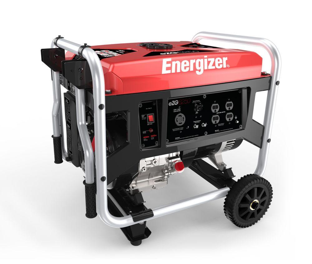 EZG6250: 6250 Watt Gas Powered Portable Generator