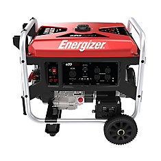 EZG7250: 7250W Gas Powered Portable Generator with Electric Start