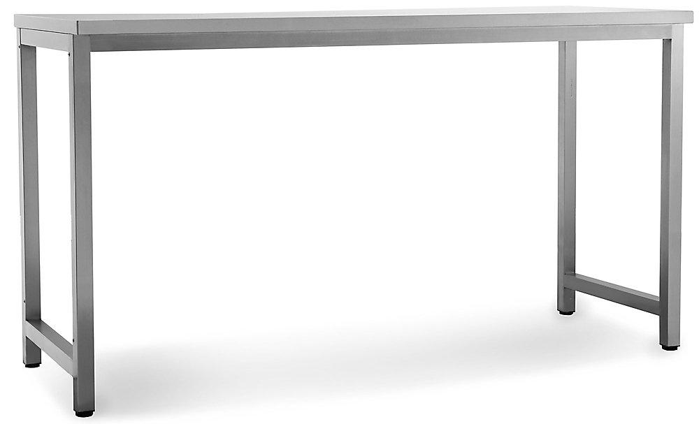 NewAge Products Cuisine extérieure 64po (L) x 24po (l) Table préparation Acier inox. Classique