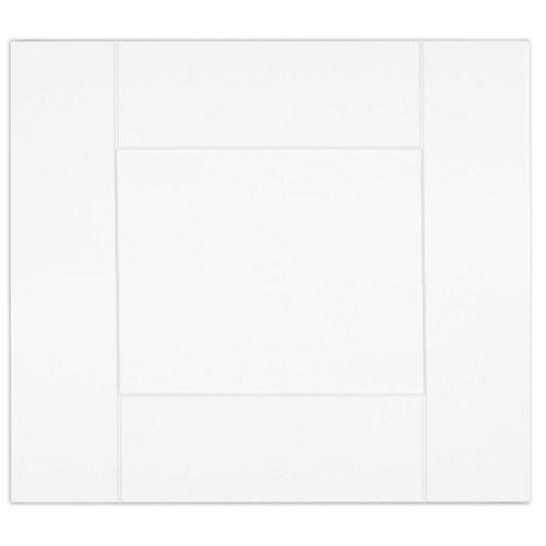 Eurostyle Oxford - Door 17 inch x 15 inch - White matt thermofoil