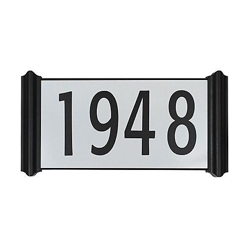 Contemporary Easy Install Address Plaque