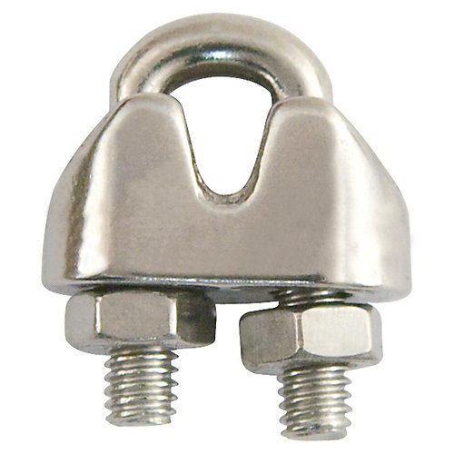 3/8 inch  Zinc-Plated Wire Rope Clip