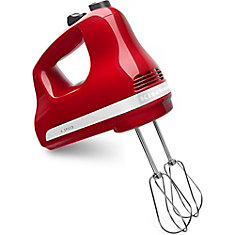 5-Speed Ultra Power Hand Mixer in Empire Red