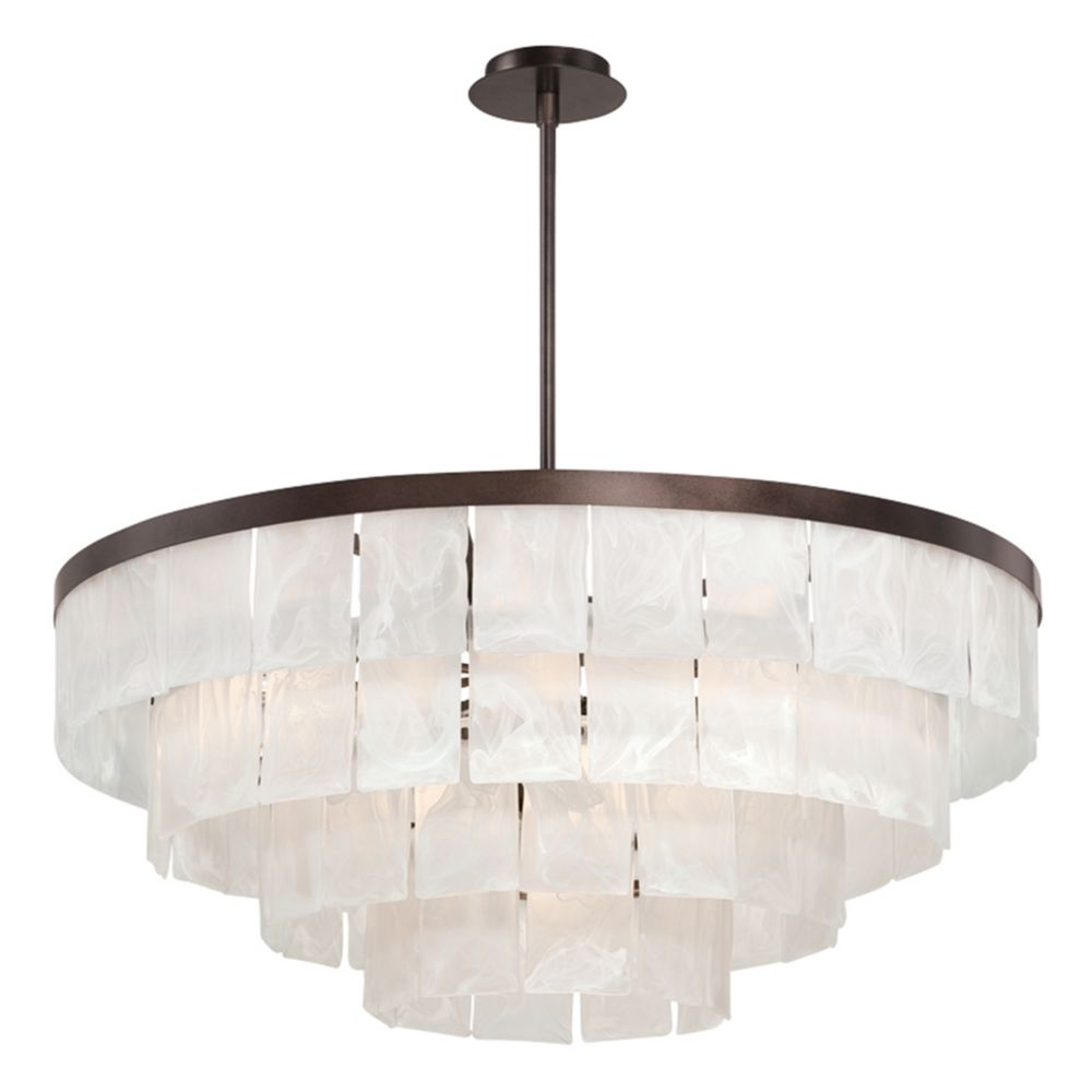 Hainsworth Collection, 13-Light Bronze Chandelier