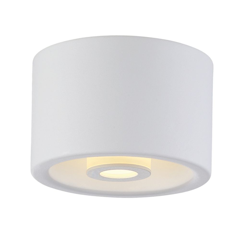 Vision Collection, 1-Light LED White Surface Mount