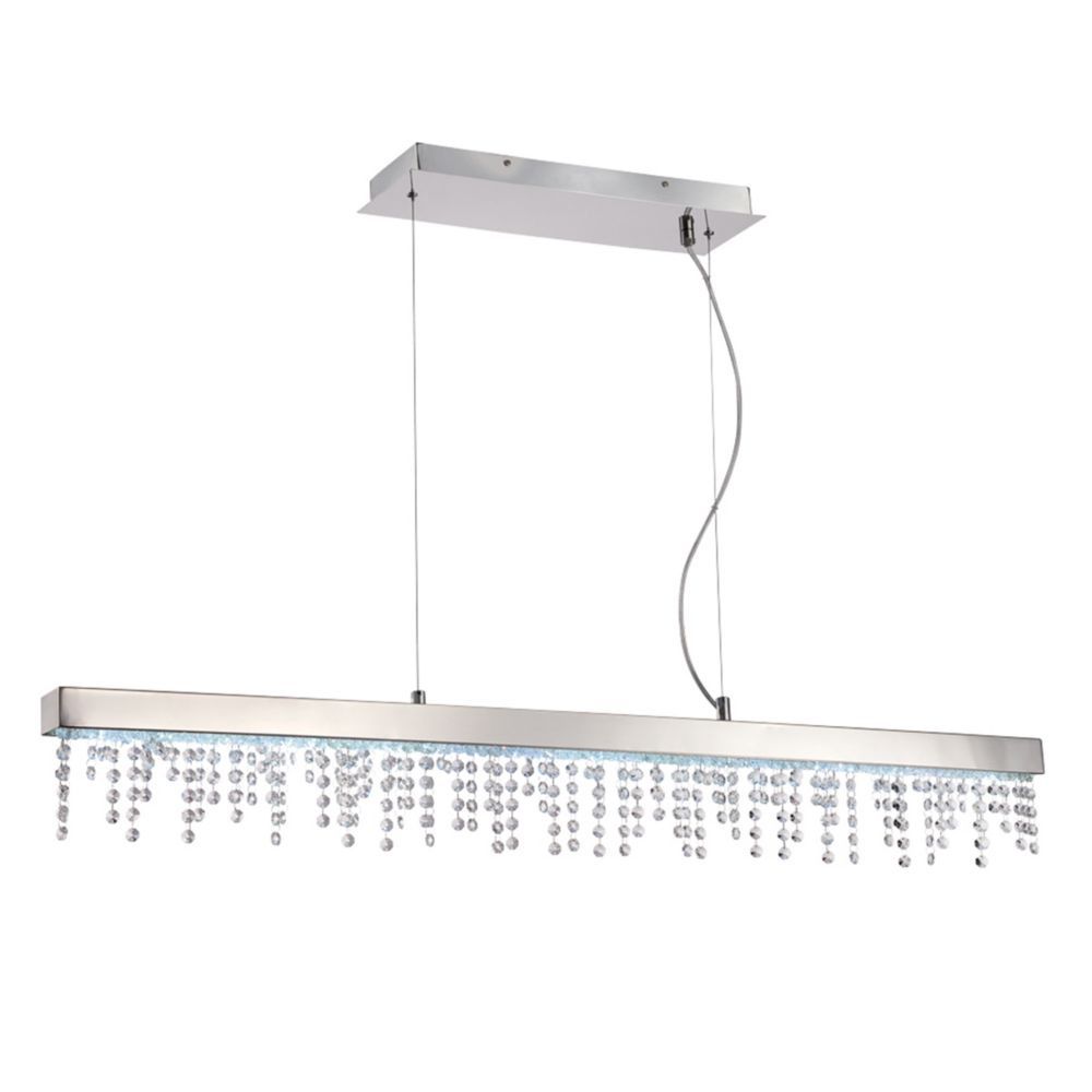 Bayview Collection, 20-Light LED Chrome Pendant