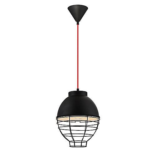 Brampton Collection, 1-Light Black Pendant