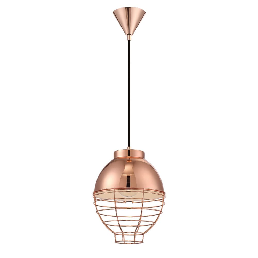 Eurofase Brampton Collection, 1-Light Copper Pendant