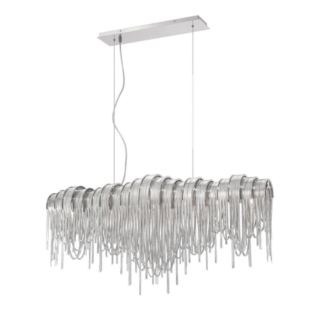 Avenue Collection 7-Light Nickel Chandelier