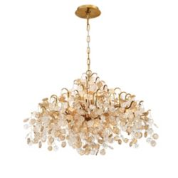 Eurofase Campobasso, 8-Light Gold Chandelier