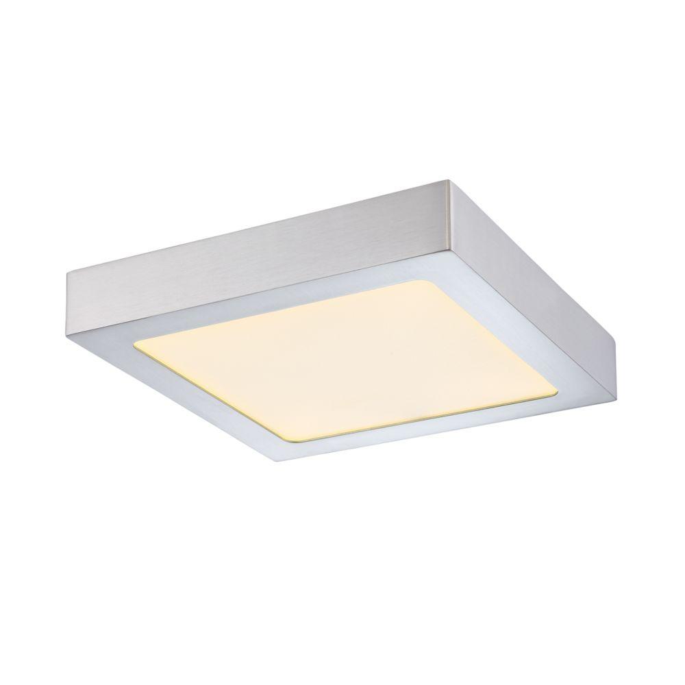 Avon Collection, 1-Light LED White Flushmount