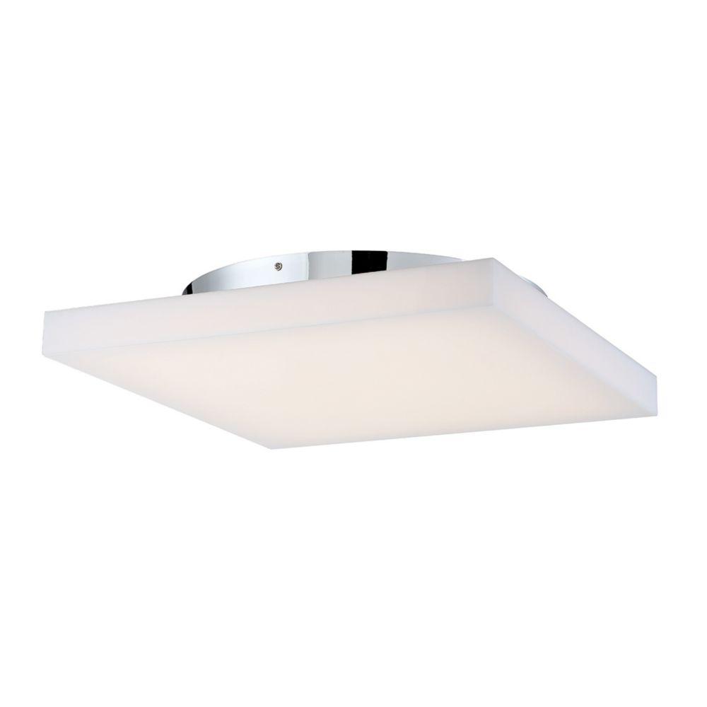 Evolve Collection, 1-Light Large LED Chrome Flushmount