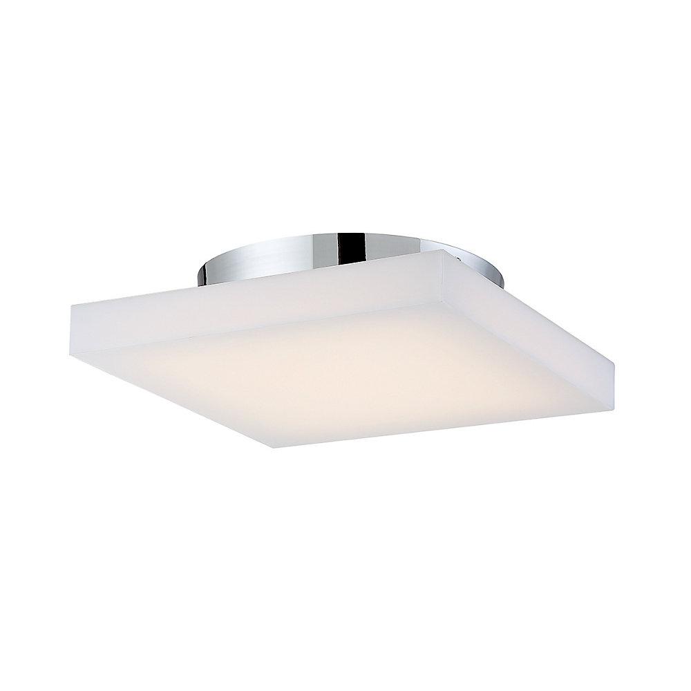Evolve Collection, 1-Light Medium LED Chrome Flushmount