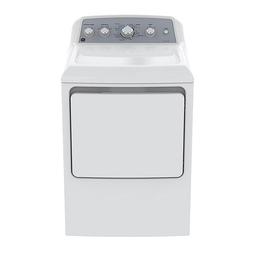 GE 7.2 cu. ft. Front Load Electric Dryer in White