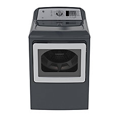 7.4 IEC cu. ft. Top Load Matching Dryer in Diamond Grey