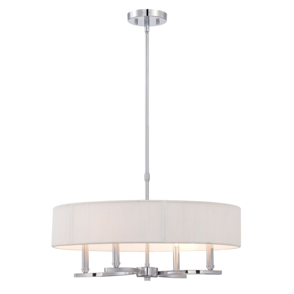 Kennedy Collection, 4-Light Chrome Pendant