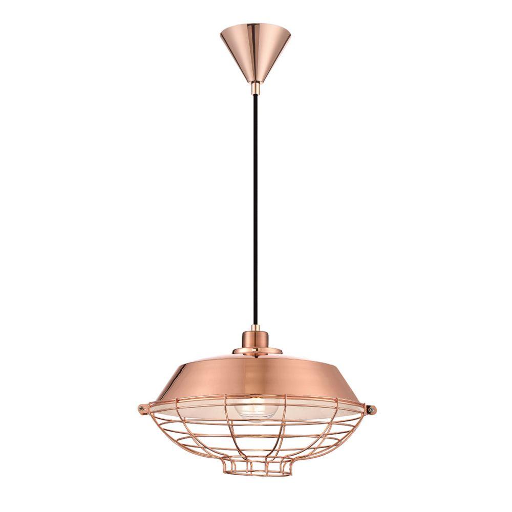 London Collection, 1-Light Copper Pendant