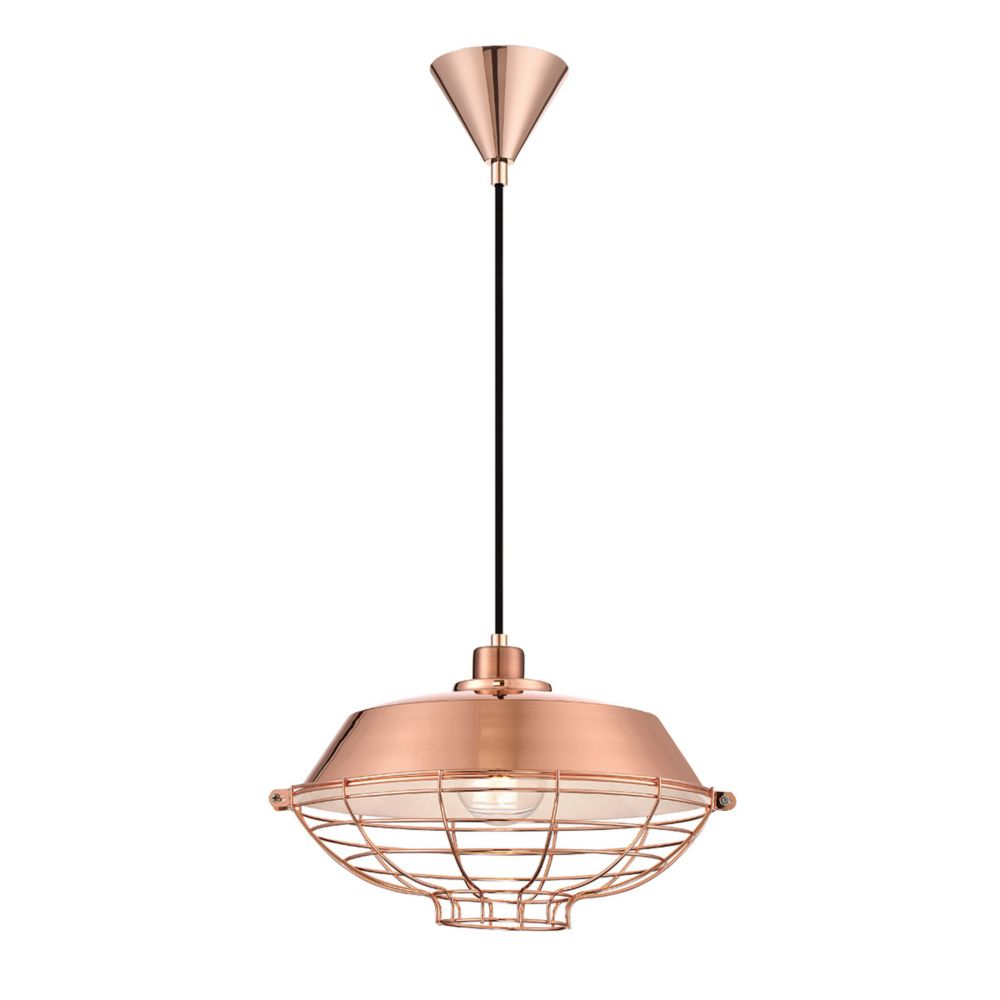 London Collection, 1-Light Copper Pendant