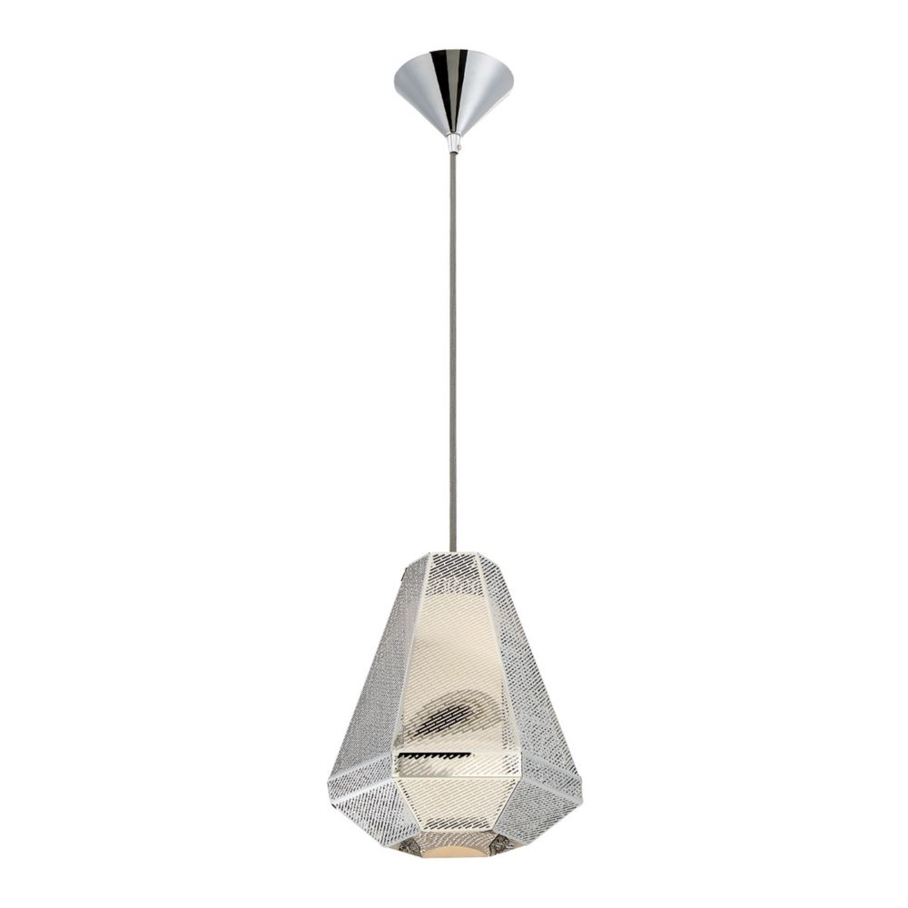 Recinto Collection, 1-Light Medium Chrome Pendant