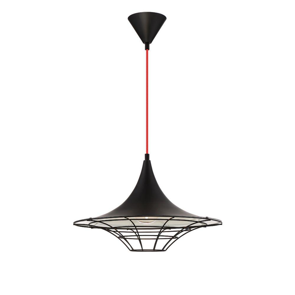 Windsor Collection, 1-Light Black Pendant
