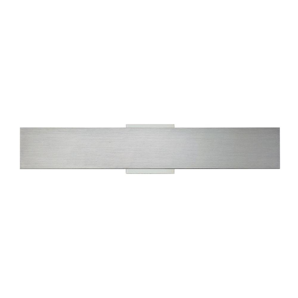 Collection Expo, applique murale moyenne en aluminium à 1ampoule DEL