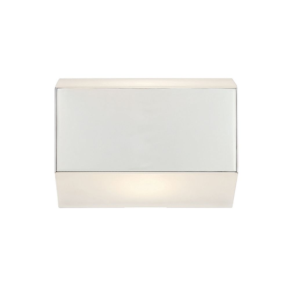 Media Collection, 1-Light LED Chrome Wall Sconce