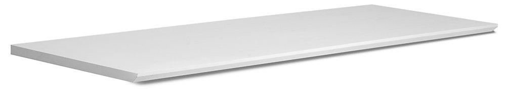 Home Bar 72-inch W x 24-inch D Comptoir blanc