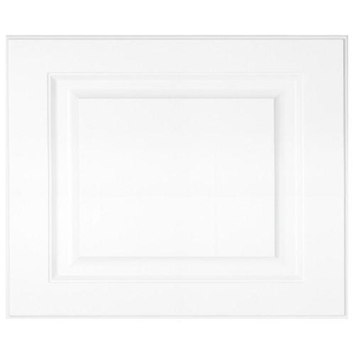 "Eurostyle Florence - Façade Tiroir 18""x15"" - Thermoplastique blanc mat"