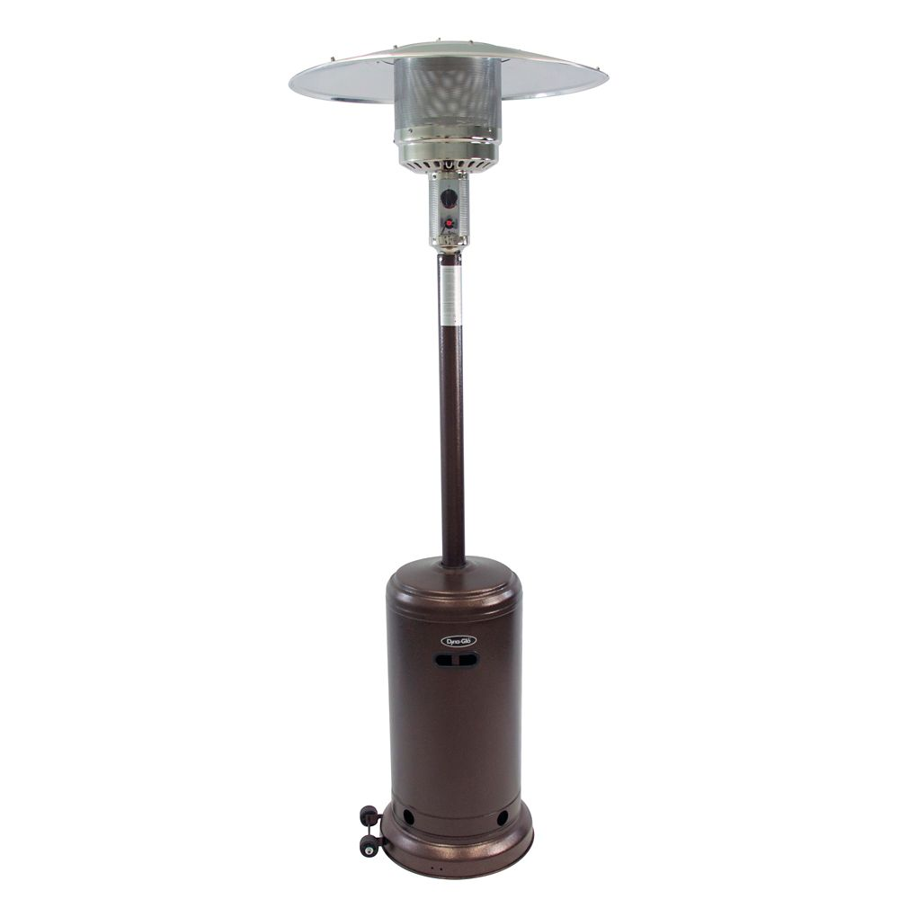 Dyna-Glo 41,000 BTU Patio Heater in Deluxe Hammered Bronze