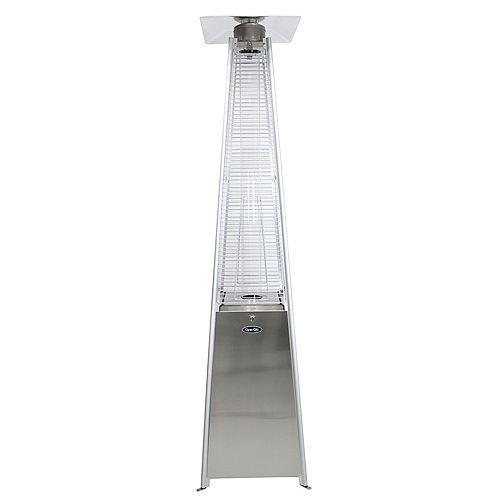Dyna-Glo 42,000 BTU Stainless Steel Pyramid Flame Patio Heater