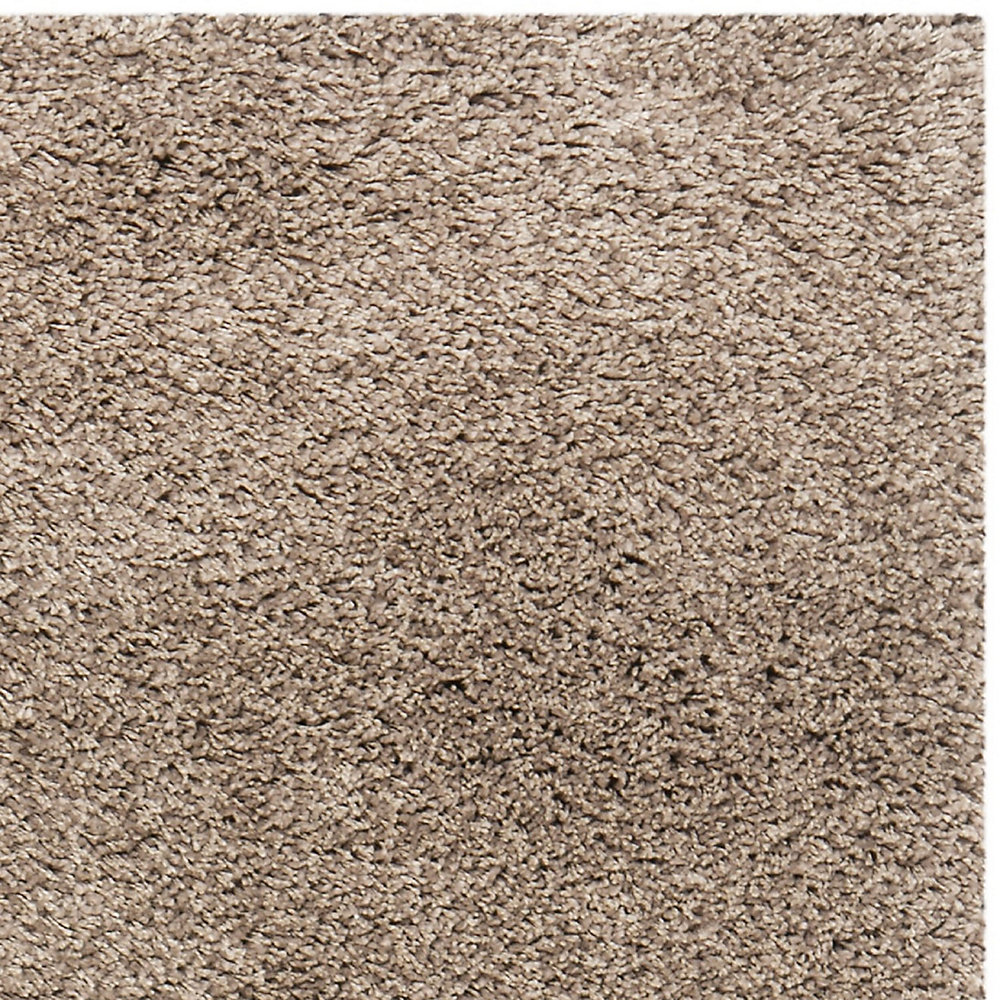 Carpette, 4 pi x 6 pi, à poils longs, rectangulaire, havane California