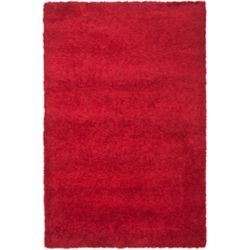 Safavieh Shag Felicia Red 5 ft. 3 inch x 7 ft. 6 inch Indoor Area Rug