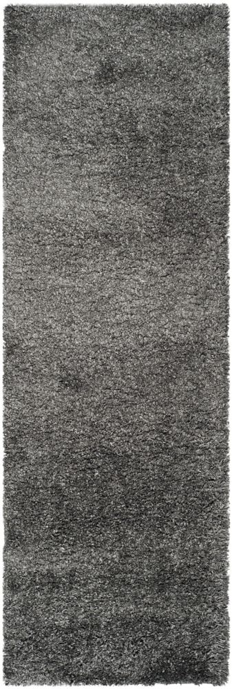 Shag Felicia Dark Grey 2 ft. 3 inch x 9 ft. Indoor Runner
