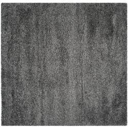 Safavieh Shag Felicia Dark Grey 6 ft. 7 inch x 6 ft. 7 inch Indoor Square Area Rug