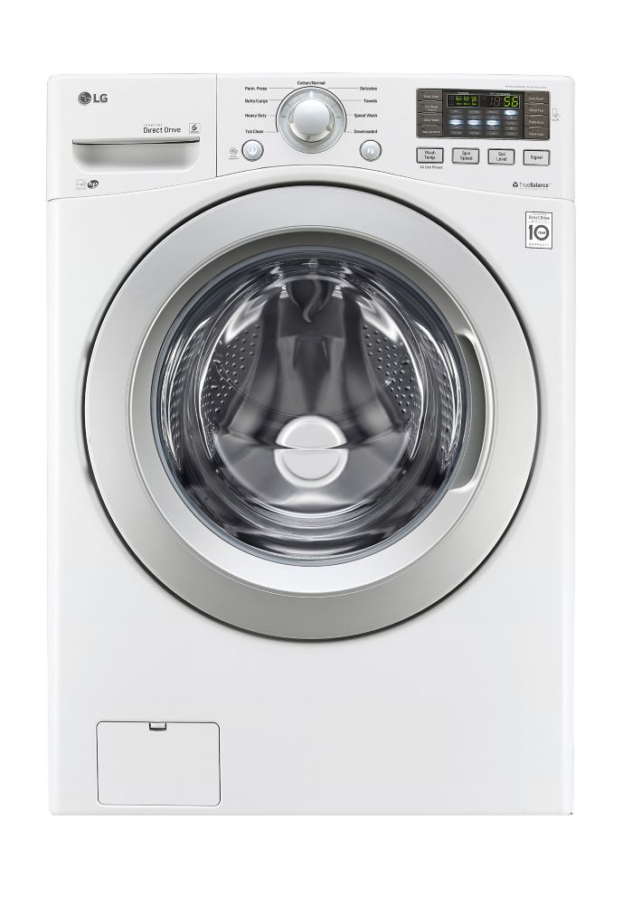 5.2 cu.Feet Ultra Large Capacity Washer with NeveRust Stainless Steel Drum