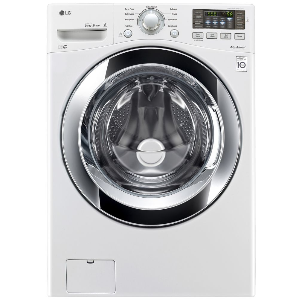 5.2 cu. Feet. Ultra Large Capacity Washer with 6Motion Technology