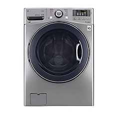5.2 cu.ft. Ultra Large Capacity Stackable Front-Load Washer in Graphite Steel - ENERGY STAR®