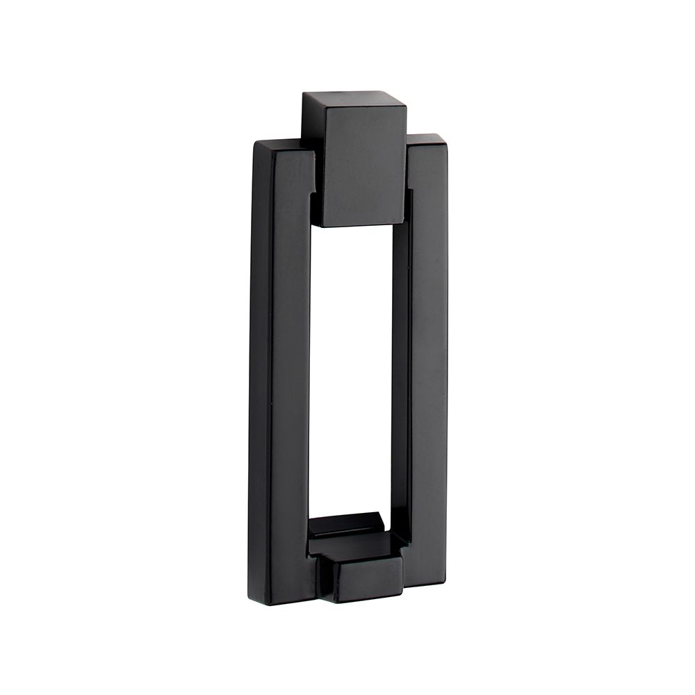 Taymor Modern Matte Black Door Knocker
