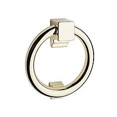 Solid Polished Brass Ring Door Knocker