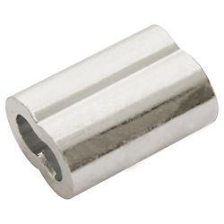 Everbilt 1/4 inch Aluminum Sleeves Ferrules - 2-Piece