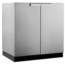 NewAge Products Inc. Classic 2-Door Stainless Steel Outdoor Kitchen Cabinet