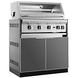 NewAge Products Inc. NewAge Products Cuisine extérieure 33po (L) x 23po (l) Armoire insert grille Plaque en aluminium