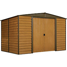 Woodridge 10 ft. x 8 ft. Steel Storage Shed