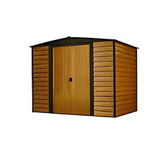 Woodridge 8 ft. x 6 ft. Steel Storage Shed