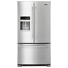 36-inch W 25 cu. ft. French Door Refrigerator in Fingerprint Resistant Stainless Steel - ENERGY STAR®