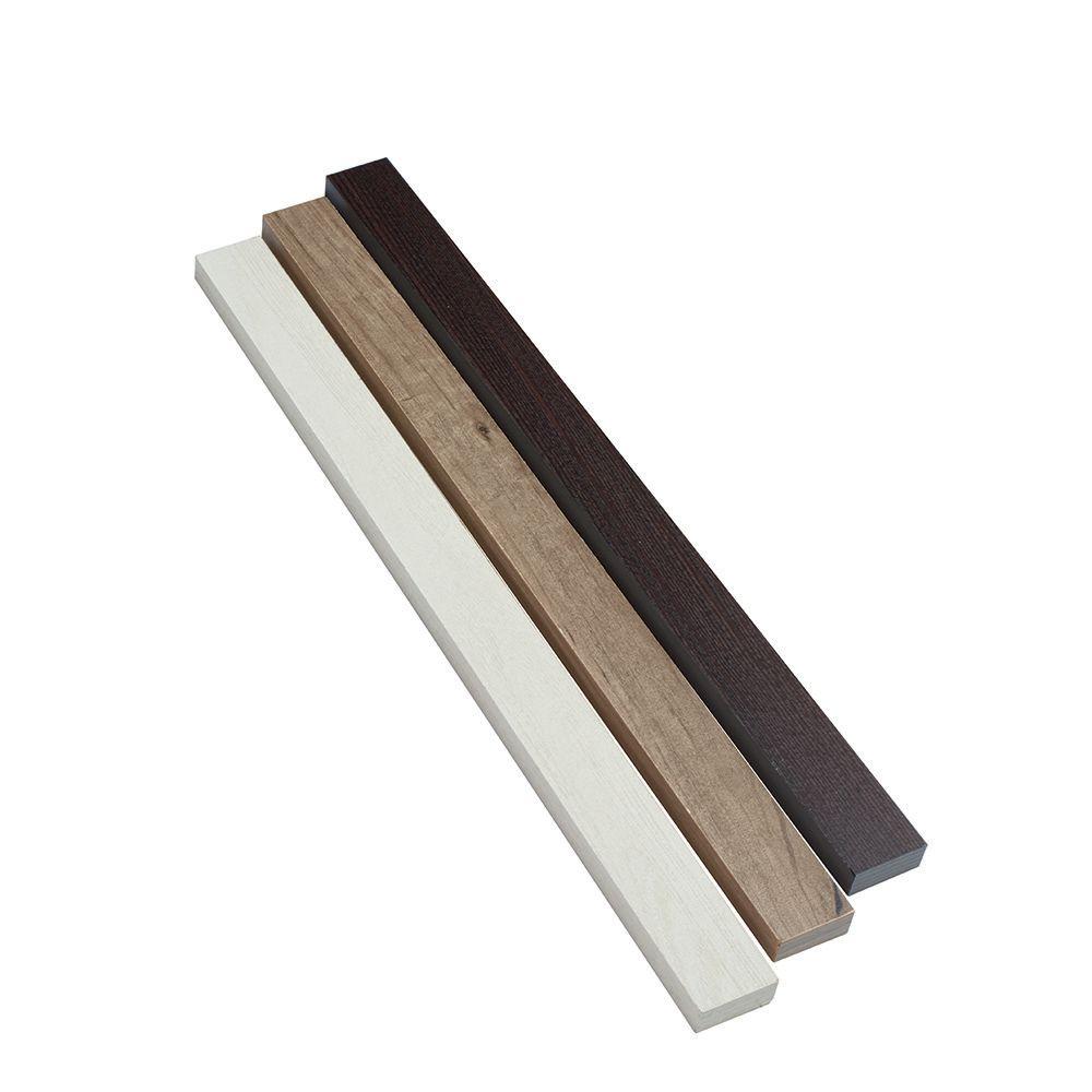 Closet Culture System 23 Inch x1-3/4 Inch x5/8 Inch  Fascia, Espresso