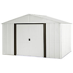 Arlington 10 ft. x 8 ft. Steel Storage Shed