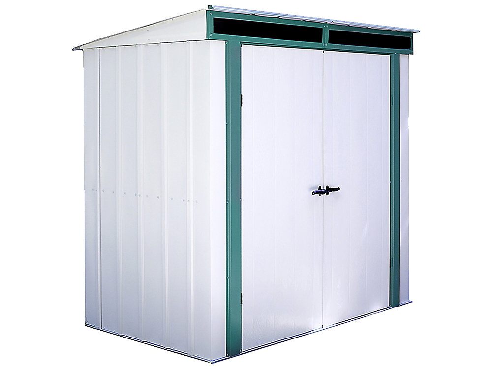 Euro-Lite 6 ft. x 4 ft. Pent Roof Window Shed